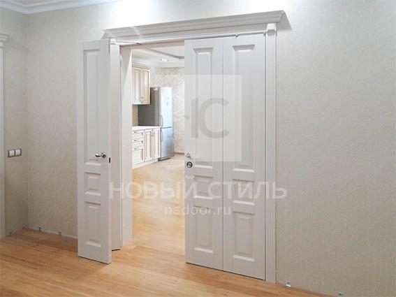 Складные двери, система TWICE