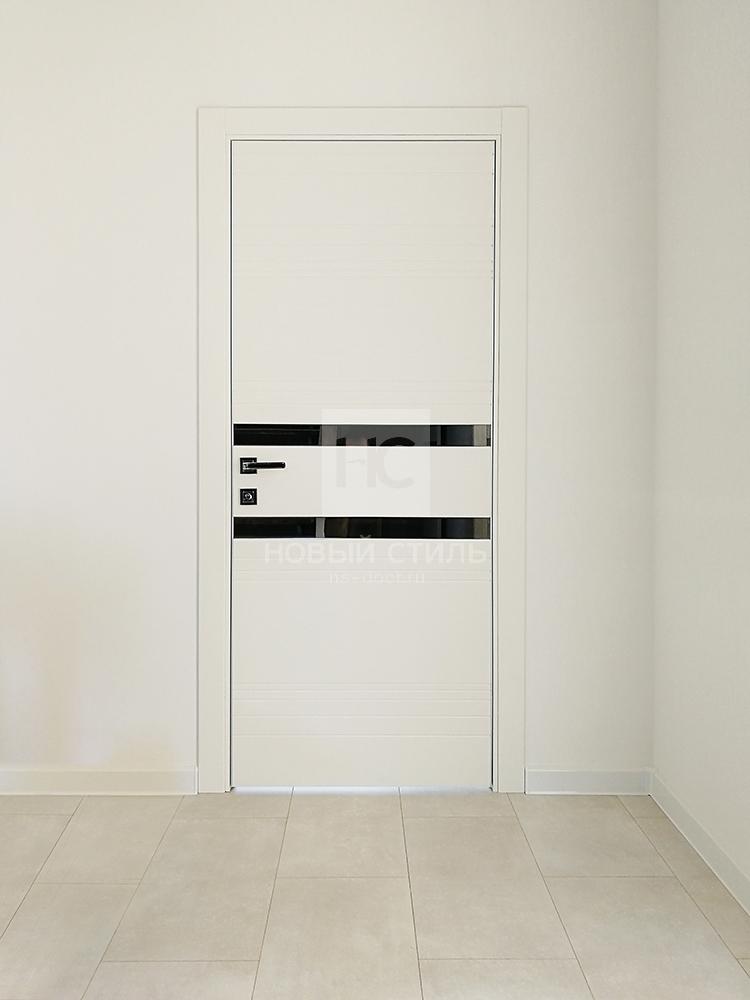 Двери в алюминиевой кромке