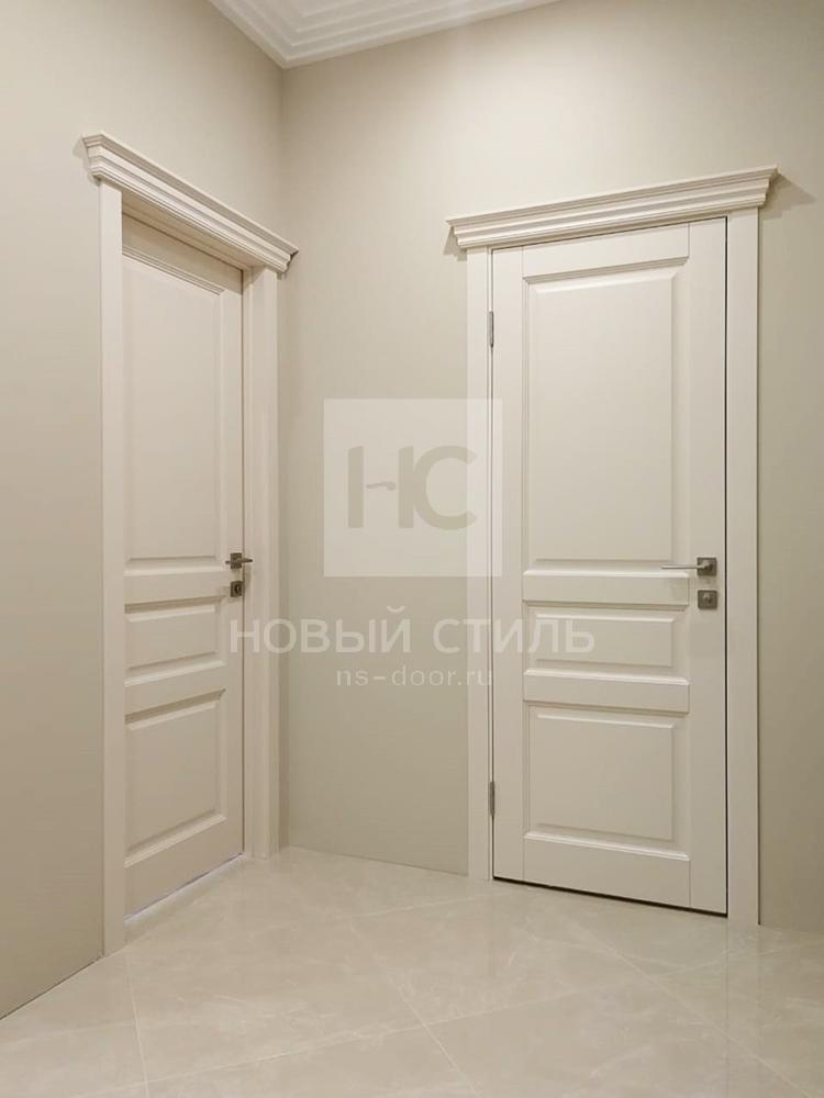 Классические двери в эмали