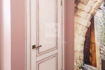 """Двери с отделкой """"гранж"""""""